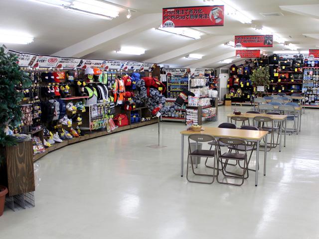 店舗をイメージしやすい、バーチャルショップ展示を常設しています